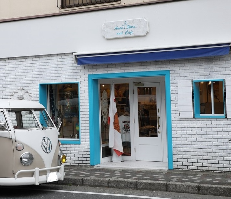Andy's Store and Cafe とワーゲンバス